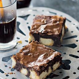 Chocolate halva brownies