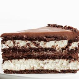 Chocolate-Hazelnut Icebox Cake