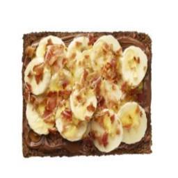 Chocolate-Hazelnut with Bananas and Bacon