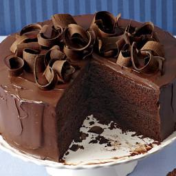 Chocolate-Honey Ganache Layer Cake
