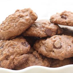 Chocolate Junior Mint Amish Friendship Bread Cookies