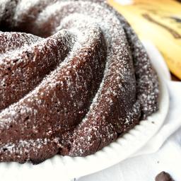 chocolate mascarpone bundt cake