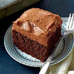 Chocolate-Mayonnaise Cake