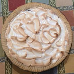 Pie,Chocolate Meringue