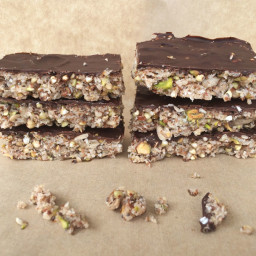 Chocolate Nut and Seed Bar
