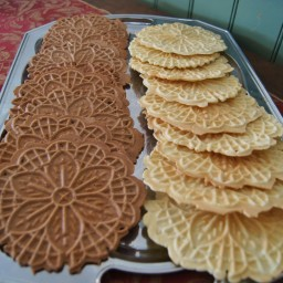 Chocolate Orange Pizelles