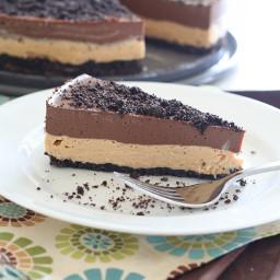 Chocolate Peanut Butter Dirt Cake