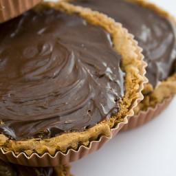 Chocolate Peanut Butter Mousse Tart