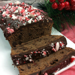 Chocolate Peppermint Loaf