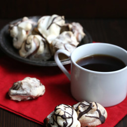 Chocolate Peppermint Meringues and Letters from Santa