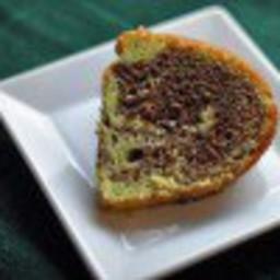 Chocolate Pistachio Bundt Cake