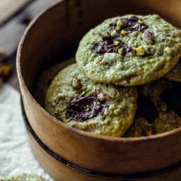 Chocolate Pistachio Cookies Recipe