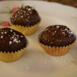 Chocolate Pumpkin Truffles
