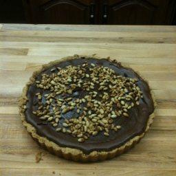 Chocolate-Ricotta Pie