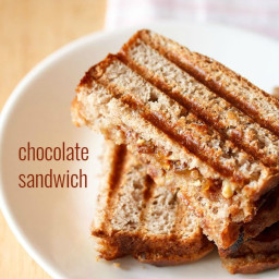 chocolate sandwich recipe with choco chips