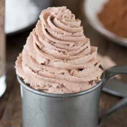 Chocolate Whipped Cream