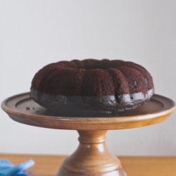 Chocolate Whiskey Bundt Cake