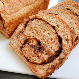 chocolate cinnamon swirl bread