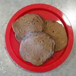 Chocolate Rye Pancakes
