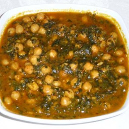 Chole Palak by Manjula