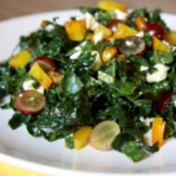 Chopped Kale and Golden Beet Salad