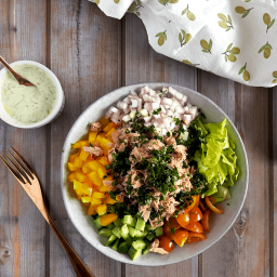 Chopped Salad with Tuna Recipe