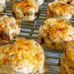 Chorizo and Cheddar Biscuits