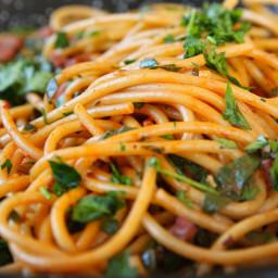 Chorizo Bucatini