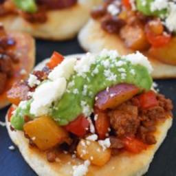 Chorizo Potato Puffy Tacos and Pillsbury Bake-Off