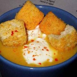 Chorizo Pumpkin Soup