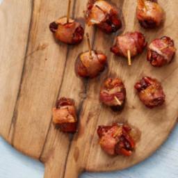 Chorizo-Stuffed Bacon Wrapped Dates