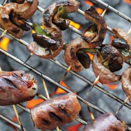 Chris Lilly's Flank Steak and Shiitake Yakitori