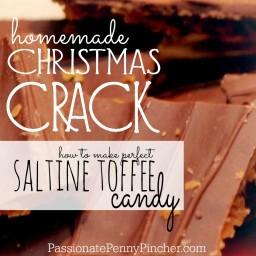 """Christmas Crack"" {AKA Saltine Toffee Candy}"