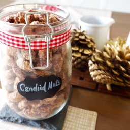 Christmas Market Recipes: Cinnamon Sugared Candied Nuts