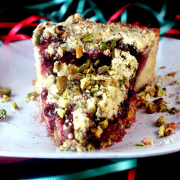 Christmas Morning Raspberry Cream Cheese Coffee Cake