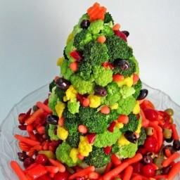 Christmas Tree Edible Centerpiece