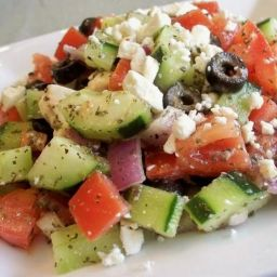 Chunky Greek Salad
