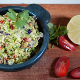 Chunky Guacamole with Bacon