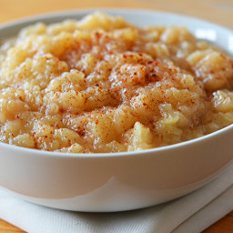 Chunky Homemade Applesauce