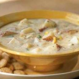 Chunky Potato-Crab Chowder