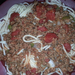 chunky spaghetti