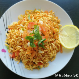 churumuri recipe | churmuri recipe | spiced puffed rice recipe