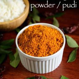 chutney powder recipe