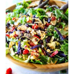 Cilantro Lime Chicken Taco Salad