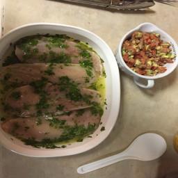 Cilantro-Lime Chicken with Avocado Salsa