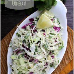 Cilantro-Lime Coleslaw