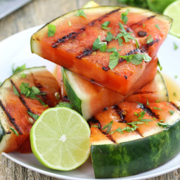 Cilantro-Lime Grilled Watermelon
