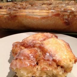 Cinabun Cake (Cinnamon Bun Cake)