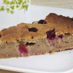 Cinnamon Apple-cranberry Cake