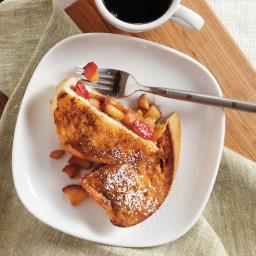 Cinnamon-Apple Stuffed French Toast